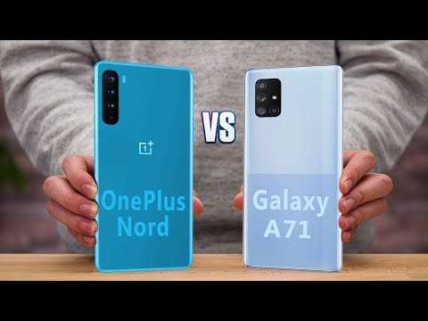 OnePlus Nord vs. Samsung A71