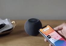 Apple HomePod Mini Smart Speaker play music