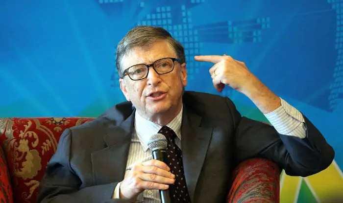 Bill Gates Calls India Inspiring