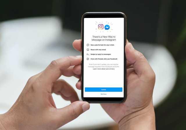 Facebbok Integrates Instagram Messenger Chat 1