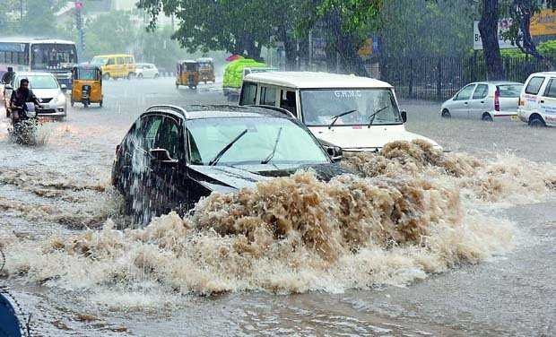 Hyderabad Weather Alert , Heavy rain and Flood