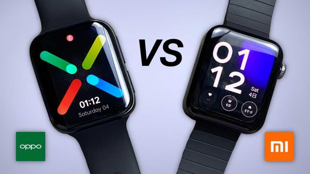 Oppo Smartwatch VS Mi Smartwatch