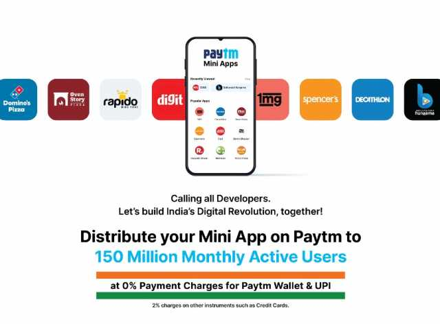 Paytm Mini App Store Launched For AndroidIn India
