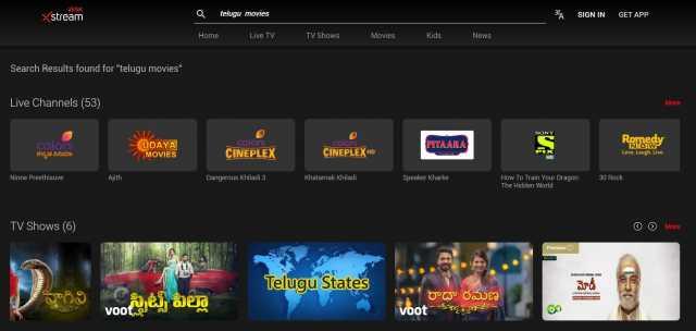 airtelXstream Watch Telugu Serials and Movies Online