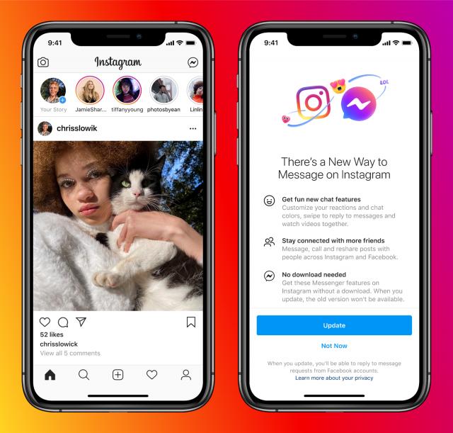 Facebook Vanish Mode On Messenger & Instagram 1