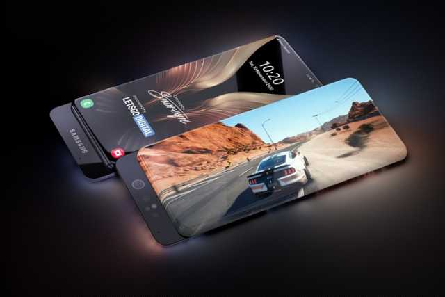 Samsung New Smartphone With Surround Display & Sliding Camera 1