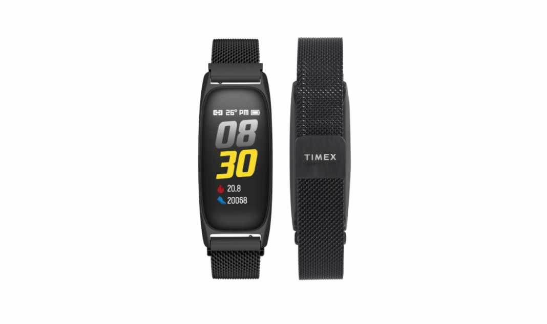 Timex Fitness Band Heart Rate Monitoring