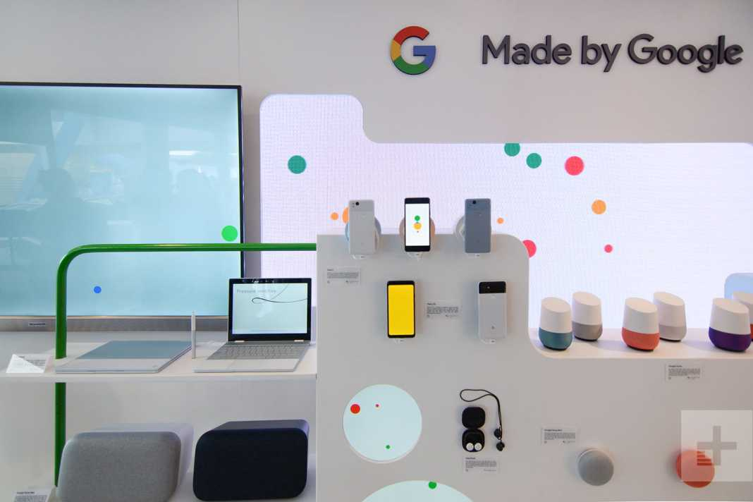Google Uses Recycled Materials