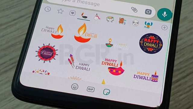 how to download Diwali themed stickers on WhatsApp 2020