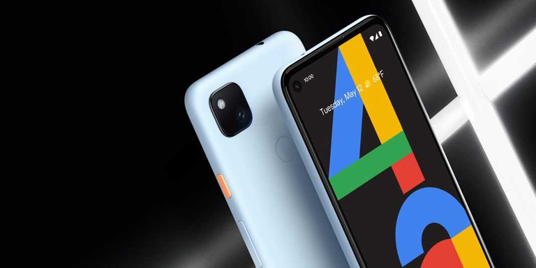 Google Pixel 4a In Barely Blue Colour