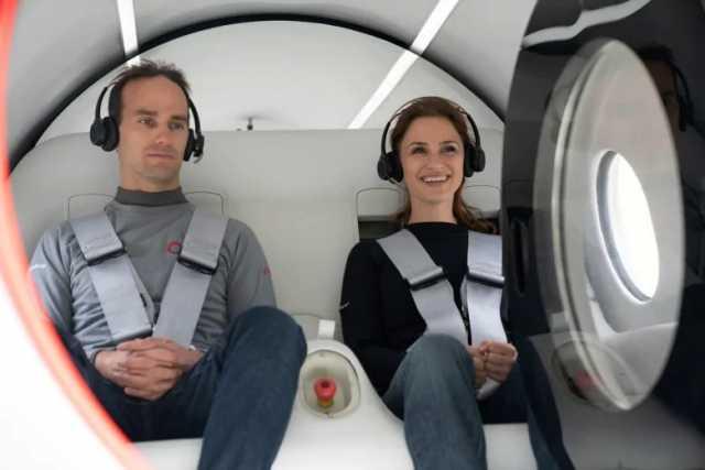 virgin hyperloop pod 2