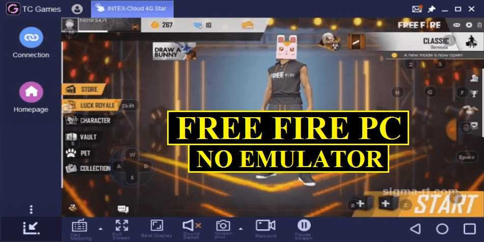 Fire on PC without any emulator