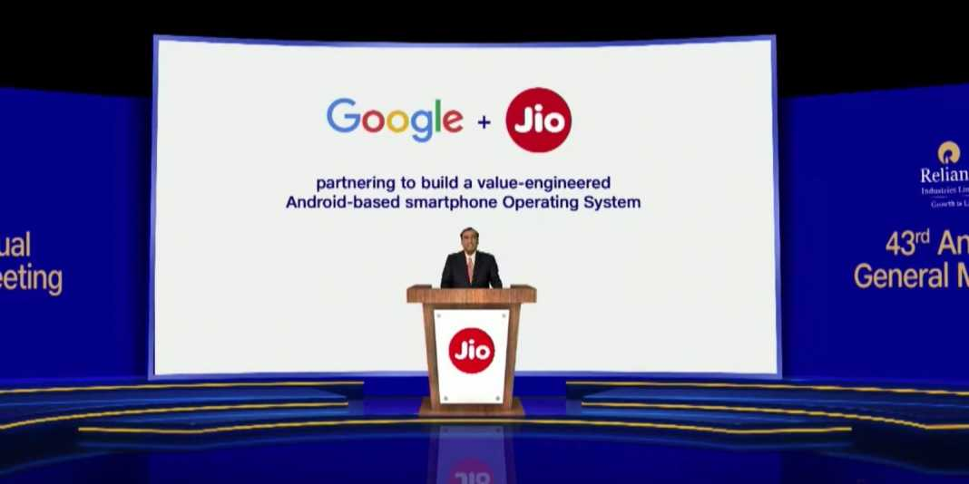 Google Jio Android Smartphone Launch 1