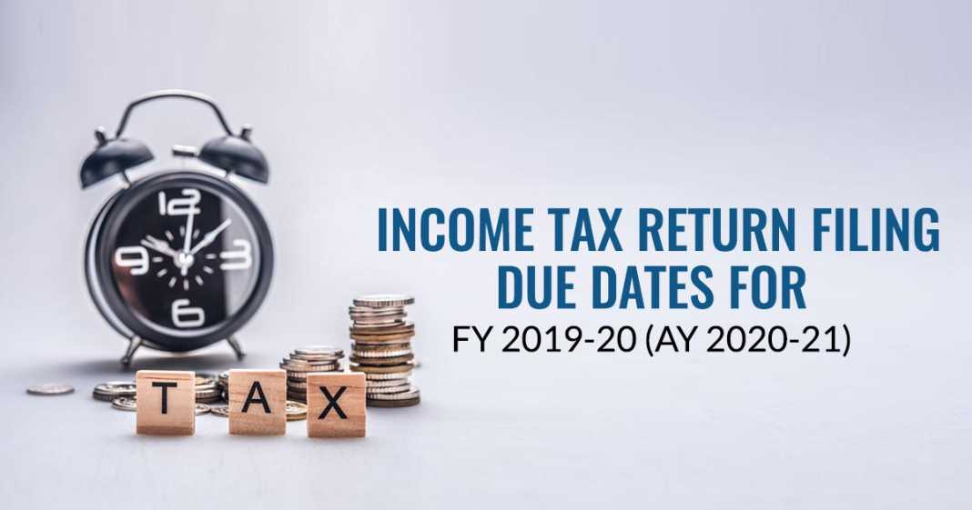 Last Date To File Online ITR 2020