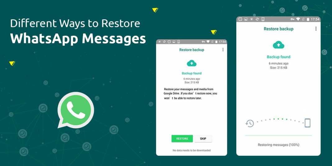 Restore WhatsApp Messages On New Android