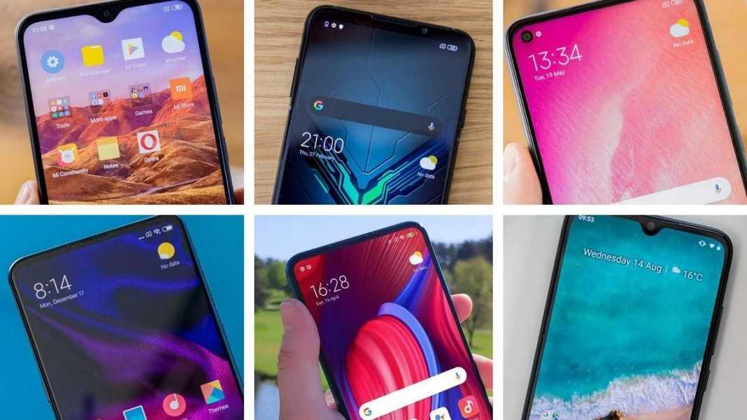 Xiaomi Phones in India 2021