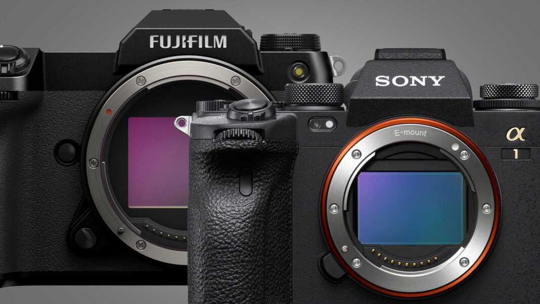 Fujifilm GFX100S & Sony Alpha 1