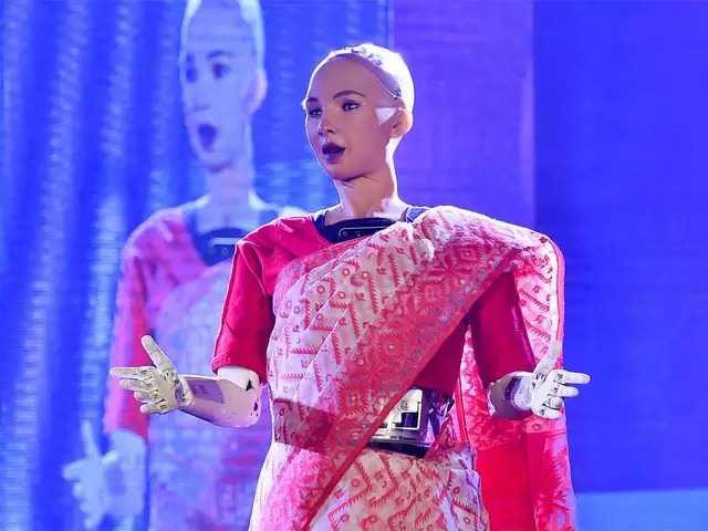 Humanoid Robot Sophia 1