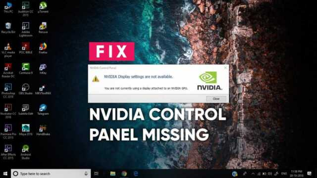 NVIDIA Display Settings 1