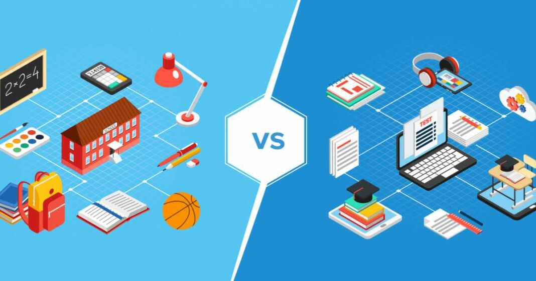 Physical Classroom Vs. Online Classroom