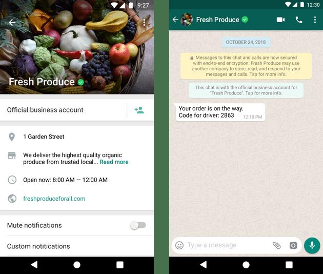 Verify WhatsApp Business Account 1