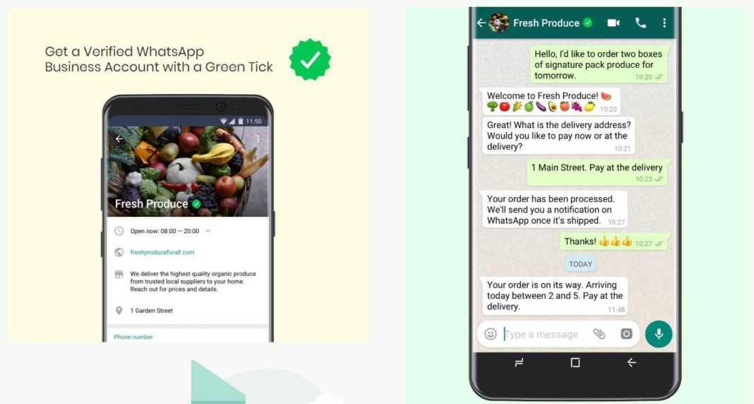 Verify WhatsApp Business Account