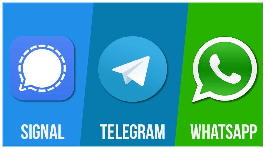 WhatsApp Vs. Telegram Vs. Signal