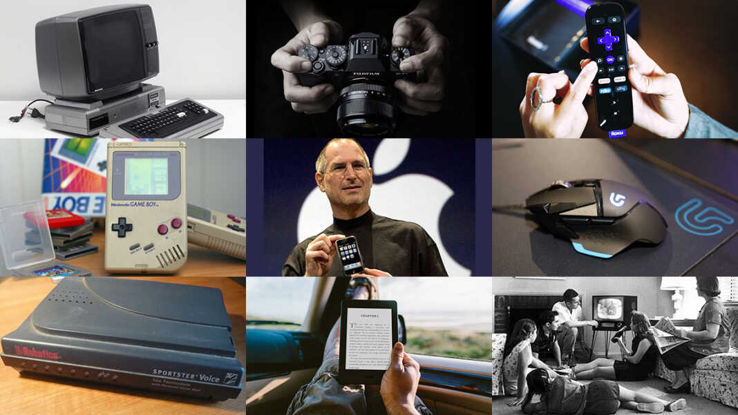 10 gadgets that changed the world