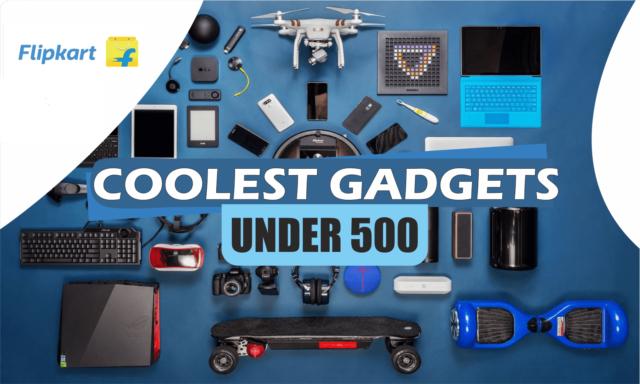Cool Gadgets Under Rs 500 on Flipkart