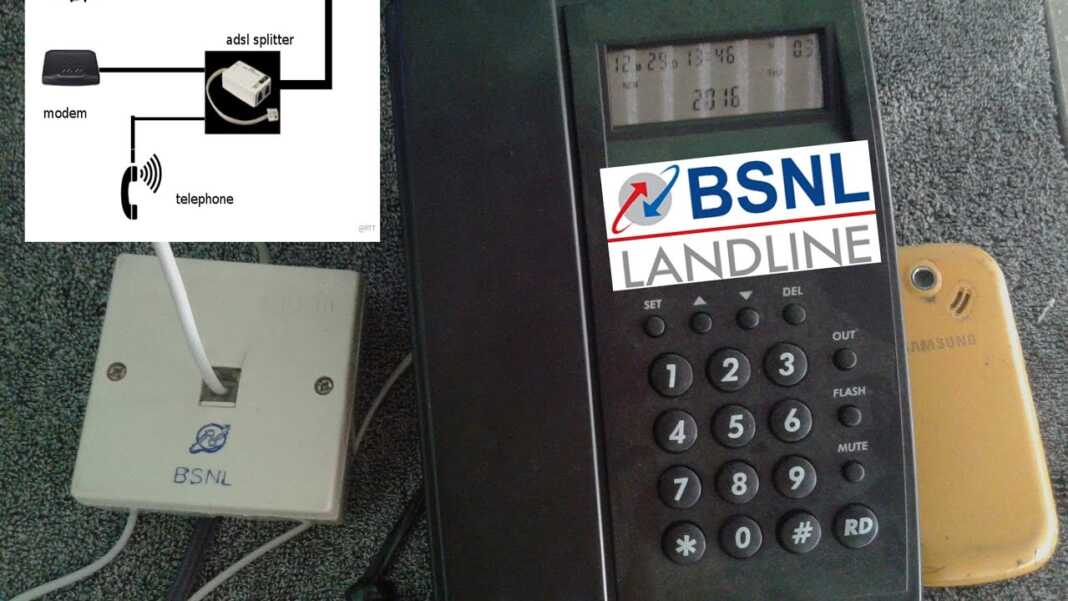 How to Connect Cordless Phone to BSNL Landline