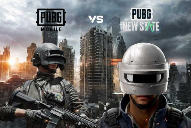 PUBG New State vs PUBG Mobile 2
