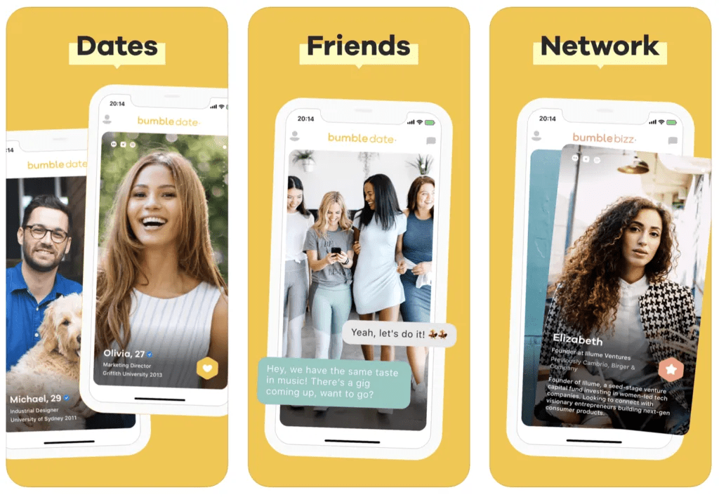 bumble dating app ipo