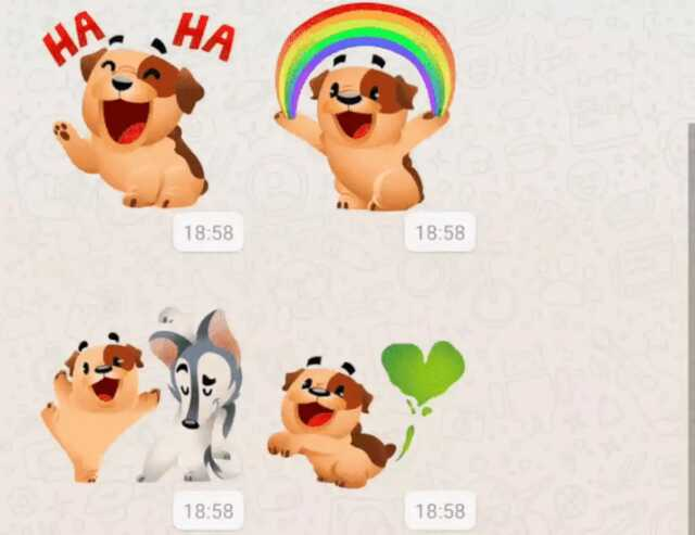 Animated Stickers For Voice Messages