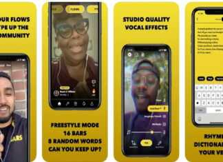 Facebook BARS App for Rappers