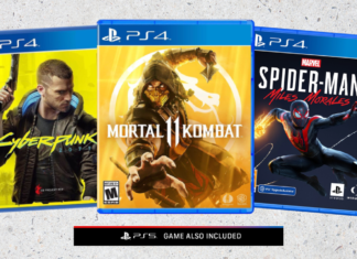PS4 and PS5 Games