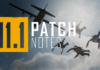 Pubg 11.1 patch notes