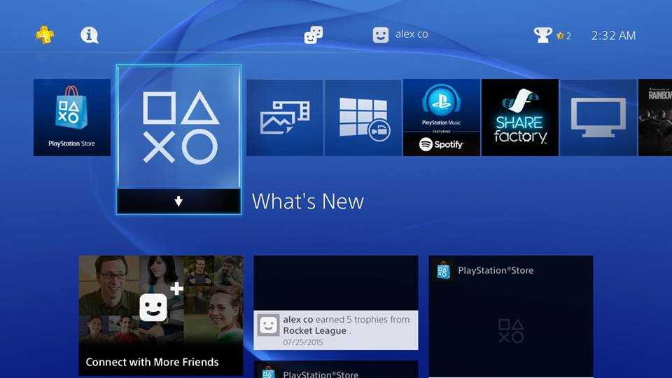 Sony PS4 Communities Feature 1
