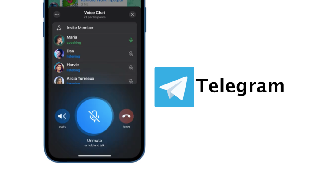 Voice Chat Feature on Telegram
