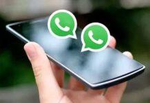 whatsapp account in one phone