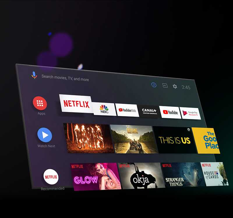 Android TV Apps on Google Play Store