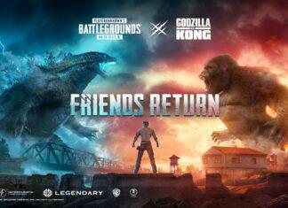 PUBG Godzilla Vs Kong Release Date