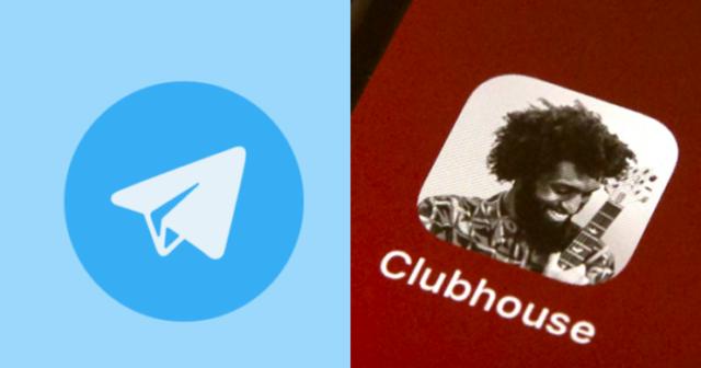 Telegram Vs. Clubhouse 1