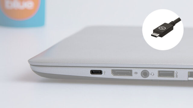 Use laptop's USB port