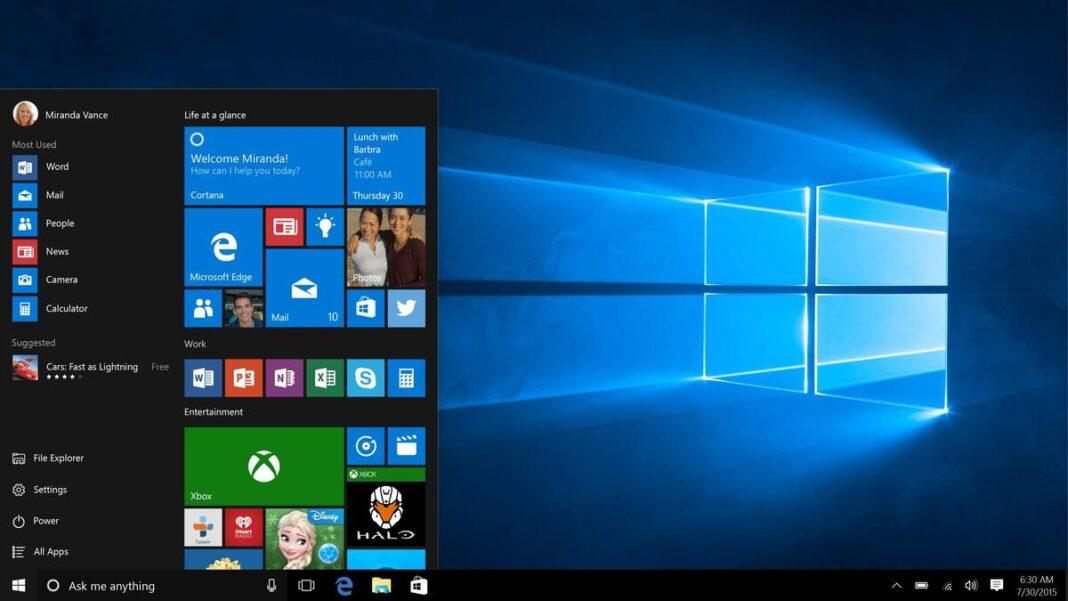 take screenshot in windows 10