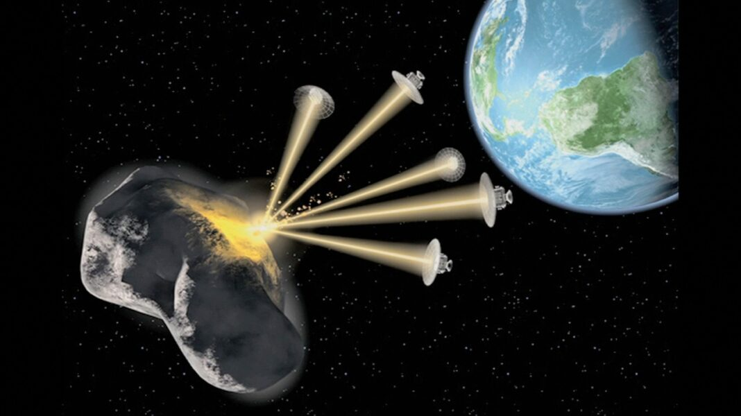 Asteroid's Collision With Earth