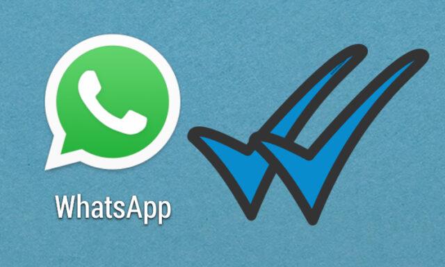 Blue tick on whatsapp