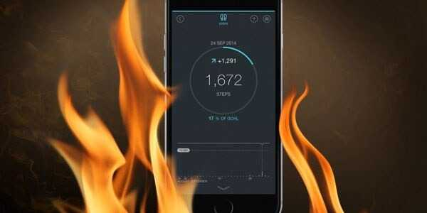 Fix overheating issue on iPhone