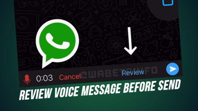 Whatsapp review tool for voice messages 2