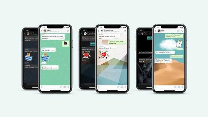 change WhatsApp wallpaper for individual contact