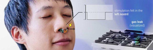 digital stereo nose stimulation